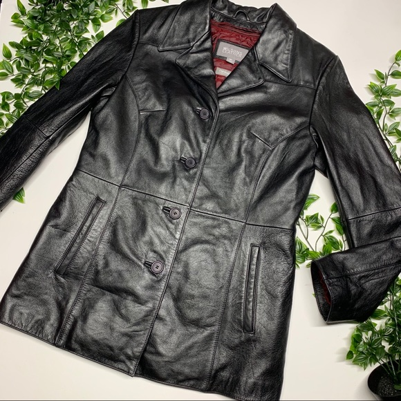 Wilsons Leather Jackets & Blazers - Wilson's Leather Lined Jacket